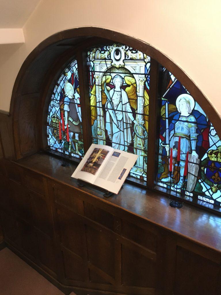 Alnmouth Friary SSF window