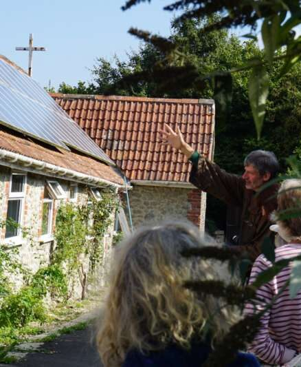 Hilfield's Solar Panels are Up and Running