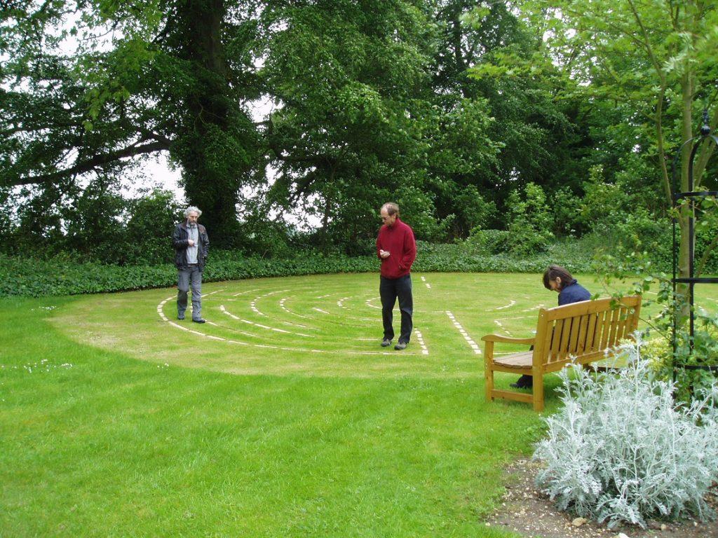 San Damiano labyrinth