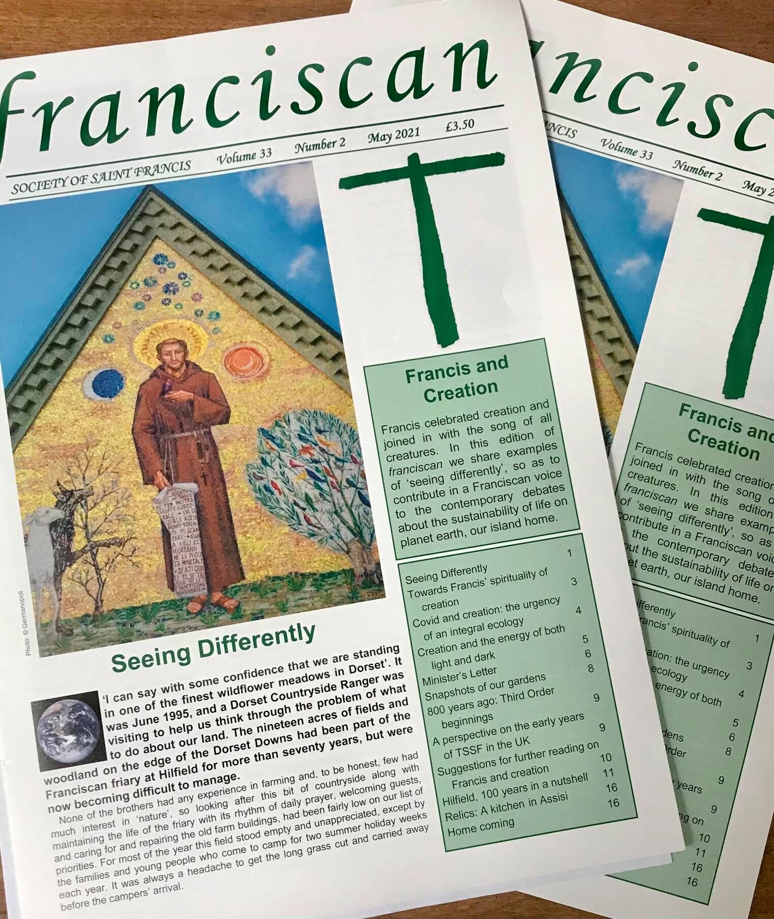 New Issue of Franciscan Magazine Now Available