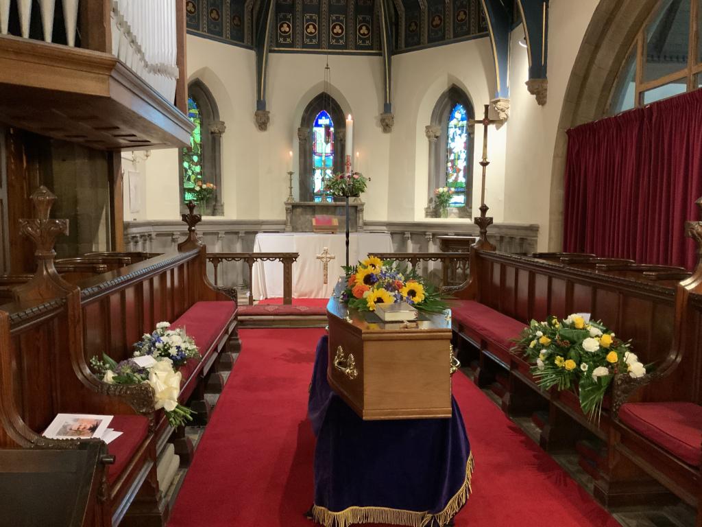 Funeral of Raymond Christian SSF