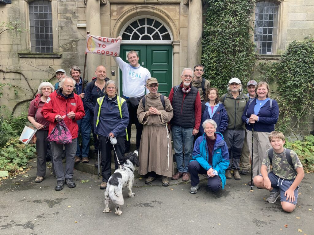 Alnmouth Welcomes COP 26 Pilgrims
